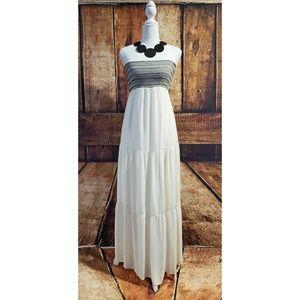 Comfy & Flowy Tiered Maxi Dress